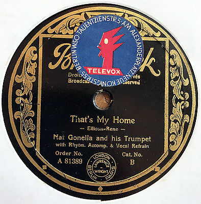Nat Gonella Orch. - That's my Home / Sing 1933 bei Televox Berlin