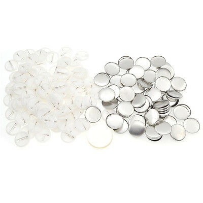 100 pcs DIY Blank Badge Breastpin Lapel Pins Pin Handmade Party Birthday Wedding