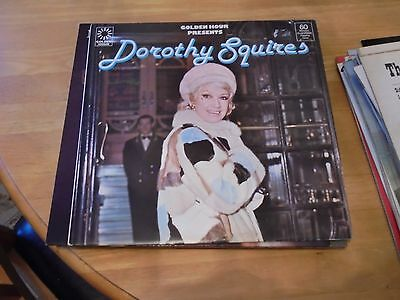 LP/ DOROTHY SQUIRES /GOLDEN HOUR PRESENTS (1970s UK PYE GOLDEN HOUR