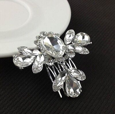 Wedding accessories / crystal hair comb - bridal accessory