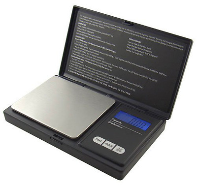 American Weigh Signature Series Black AWS-100 Digital Pocket Scale, 100 by 0.01