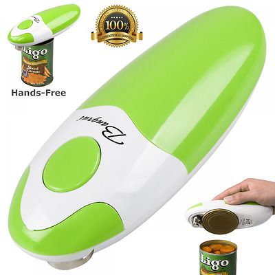 BangRui Smooth Soft Edge Electric Can Opener with One-Button Start and One-Butto