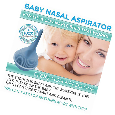Baby Nasal Aspirator and Nose Cleaner for Newborns and Toddlers Baby Nasal Aspir