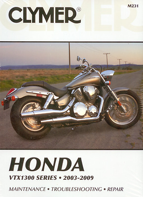 New Clymer Workshop Manual Honda VTX1300 Series 2003-2009 Service Manual Repair