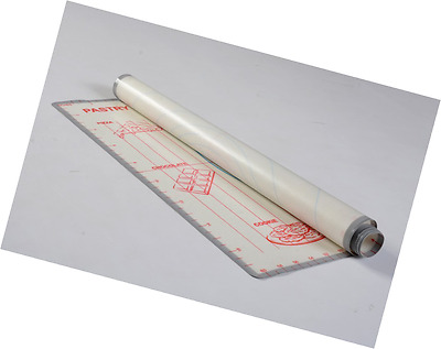 Silicone Pastry Rolling Mat Sheet non Slip and non Stick for Fondant Icing