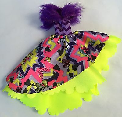 Ever After Monster High Kitty Cheshire Wonderland Gorgeous Dress