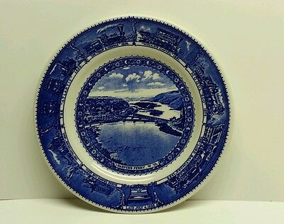 B&O Baltimore and Ohio Railroad China Dining Car Dinner Plate