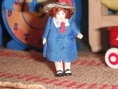 Vintage Miniature Madeline Doll Baby fits Fisher Price Loving Family Dollhouse