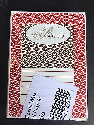 Bellagio Official Used Playing Cards GREEN AND RED- UNOPENED ARISTOCRAT CARDS