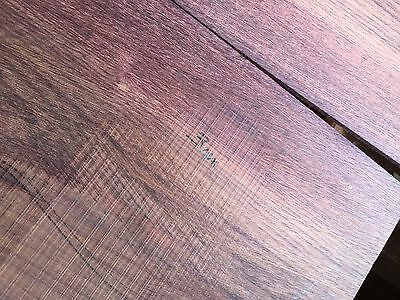 Mexican Kingwood ( camatillo rosewood )Guitar Back And Side Set