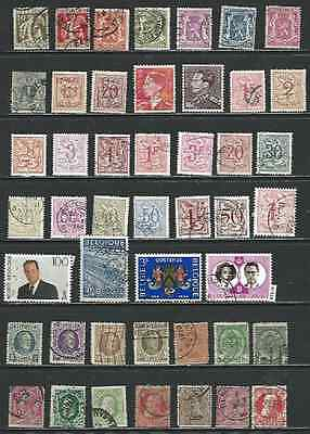 #7128 BELGIUM Lot of Used Stamps Combine Shipping