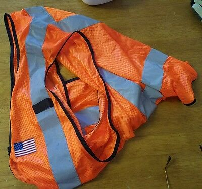 Railroad vest--used but good condition FREE SHIPPING