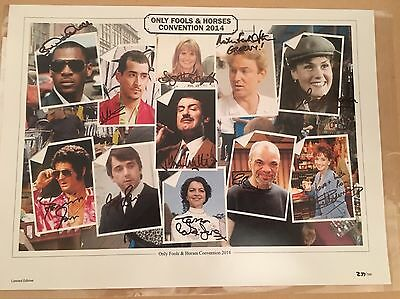 Only Fools And Horses Original Autographs Limited Edition
