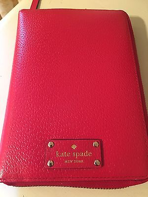 Kate Spade Wellesley Planner Red