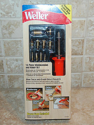 Weller 15 Piece Woodburning And Hobby Kit