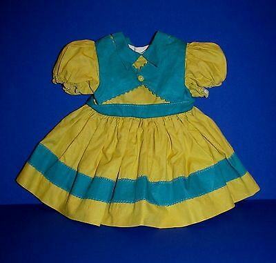 """SALE!  1952 Ideal 22"""" Saucy Walker Dress with Attached Slip Minty Unplayed With!"""