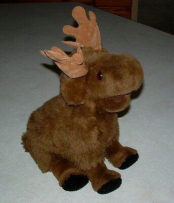 "Gund Moose 1987 Plush Stuffed Animal w/tag 12"" Very Nice"