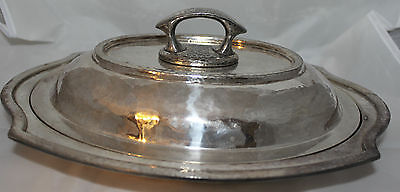 Vintage Silverplate Covered Serving Dish