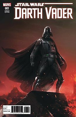 Darth Vader 1 Francesco Mattina Variant Charles Soule Rare Movie Star Wars