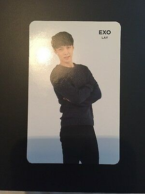 EXO Lay SM Coex Fortune Cookie Photocard