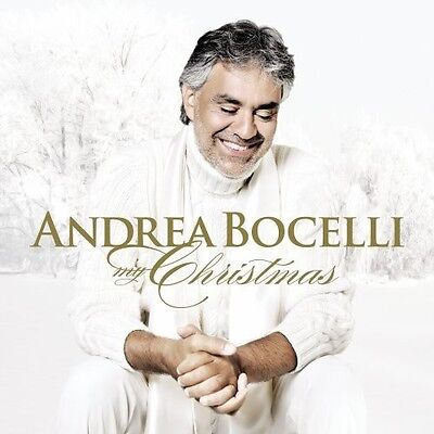 Andrea Bocelli My Christmas Album Decca Records Brand New CD Sealed