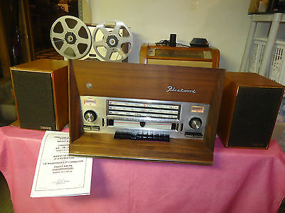 Vintage  Fleetwood  2052  All Tube  Stereo  Receiver  With Shortwave