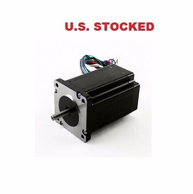 "1Pcs Nema23 425Oz/in 2.8A Stepper Motor ¼"" Dual Shaft"
