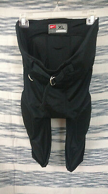 NIKE BLACK FOOTBALL XL Padded PRACTICE PANTS ADULT SIZE extra Large Game