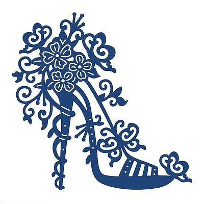 NEW Tattered Lace 'HIGH HEEL CHARISMA' Die - D0457  - FREE  P&P