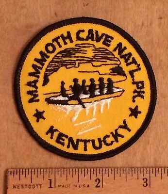 Mammoth Cave National Park Kentucky KY Souvenir Embroidered Patch