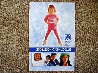 Girl Guide Catalog 2003-04 Girl Guides of Canada Catalogue Brownies Girl Scouts