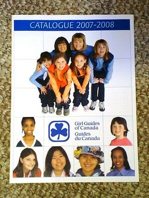 Girl Guides of Canada Catalogue 2007-08 Girl Guide Girl Scouts Brownies Catalog