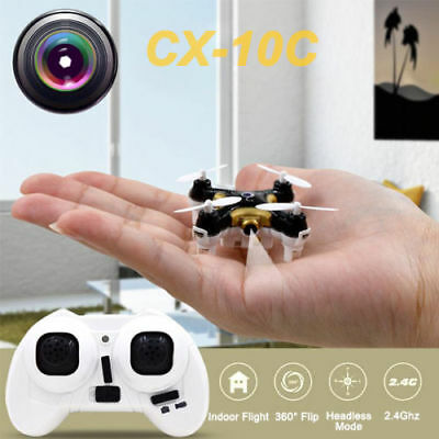 Original+2017 Cheerson CX-10 C Mini RC Quadcopter Drone With 0.3MP HD Camera OK