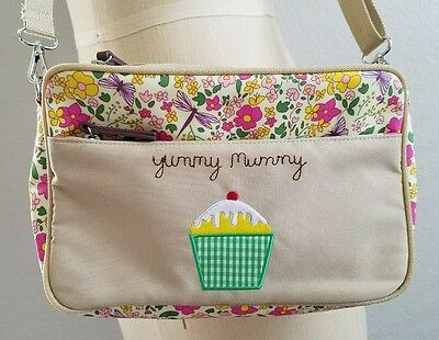 Pink Lining Yummy Mummy Mini Nappy Diaper Bag with Changing Pad