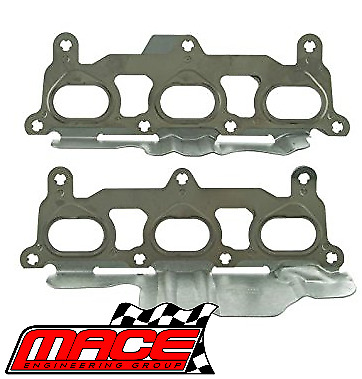Mace Exhaust Manifold Gasket Set Holden Rodeo Ra Alloytec Lca 3.6L V6