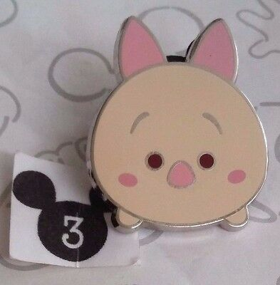 Piglet Tsum Tsum Series 1 Cute Cutie Winnie the Pooh Disney Pin Buy 2 Save $