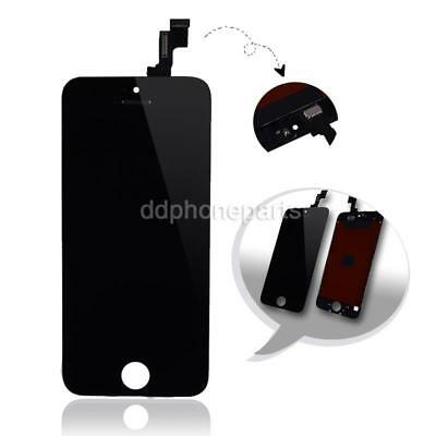 Front Glass Black LCD Display Touch Screen Digitizer Assembly for iPhone 5s NEW