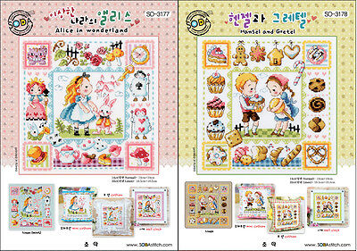 SODAstitch  A Fairy Tale series 10 patterns.