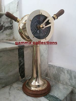 "20"" Brass Ship Working Telegraph Engine Order Chadburn Nautical Gift Maritime"