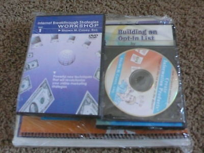 NEW Internet Breakthrough Strategies Workshop Kit by Shawn Casey CD DVDs Books