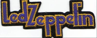 "Led Zeppelin Name Cut Out VINTAGE Patch From The 80""s"