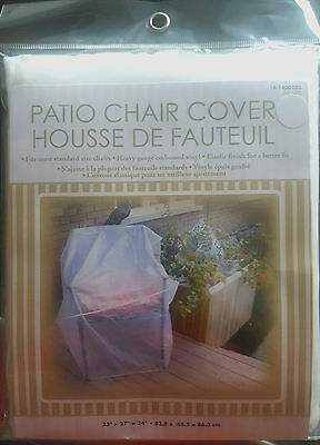 Clear Vinyl Patio Chair Cover *NEW*