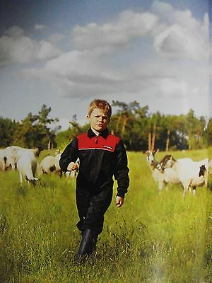 MF Massey Ferguson Unisex Child's Kid's Overalls from Ages 2 to 15