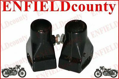 Brand Vespa Alloy Made Black Center Stand Shoe Pair Px T5 Lml Scoots  @cad