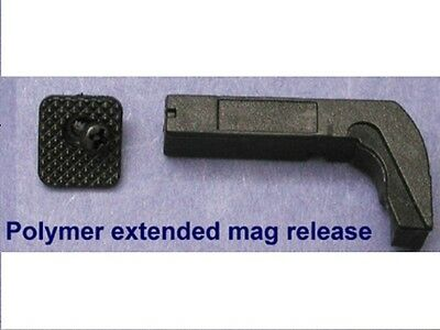 Extended Mag Release fit Gen 1 to 3 Glock 17 19 22 34 35 39 in 9 mm 40S&W  #1350