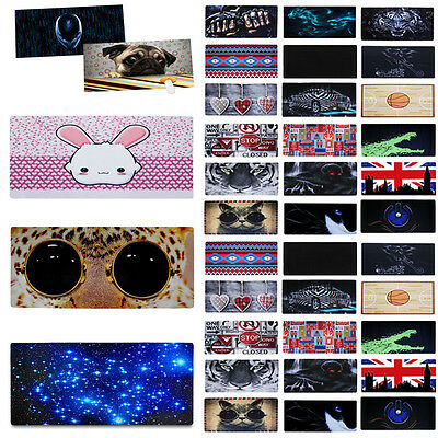 New XL Anti-Slip Colorful Print Gaming Wide Large Mouse Pad Desk Mat 90X40CM