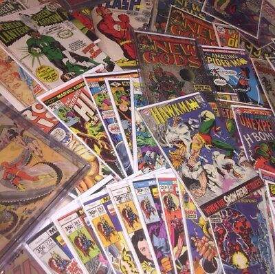 Fantastic Silver Age Comic Lot: Avengers,Spiderman,Punisher,(Random Grab)