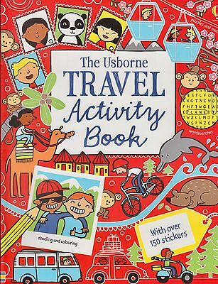 The Usborne Travel Activity Sticker Book BRAND NEW BOOK (Paperback 2014)