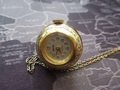 smiths vintage ladies   -     watch pendant, mechanical- ticks