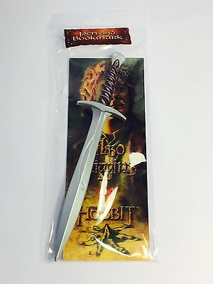 Sci-Fi Nerd Block The Hobbit Sting Sword Pen And Bookmark Brand New
